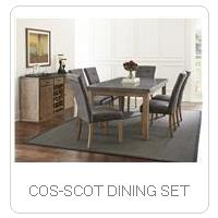 COS-SCOT DINING SET